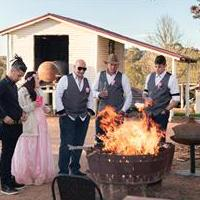 Wedding fire